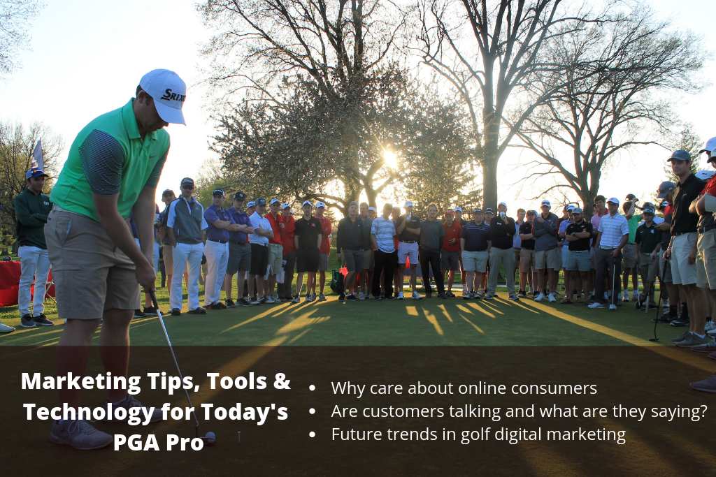 Marketing Tips, Tools & Technology for Today's PGA Pro