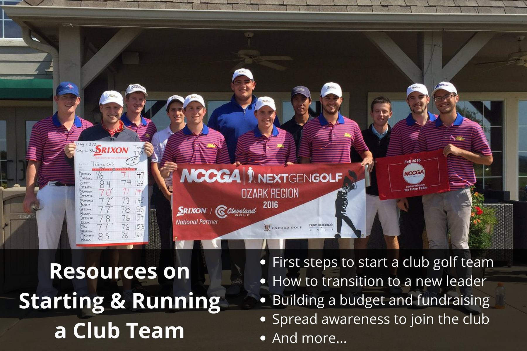 Club Golf Team Resources